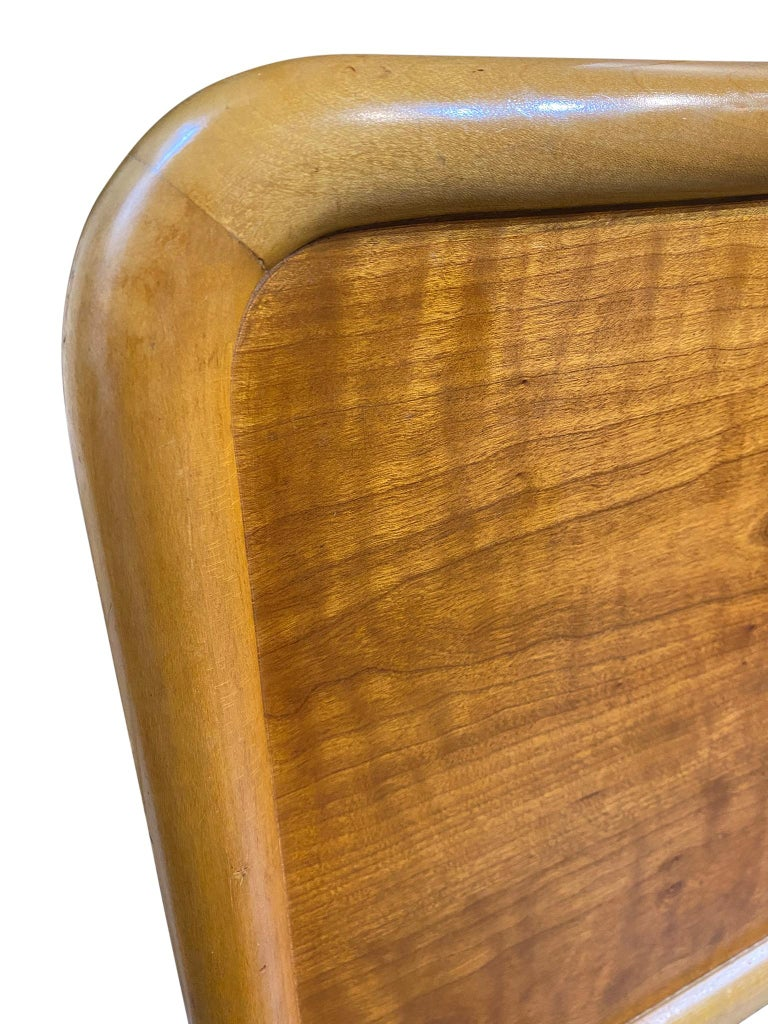 Mid-Century Modern Beautiful Midcentury Robsjohn-Gibbings King Headboard for Widdicomb For Sale