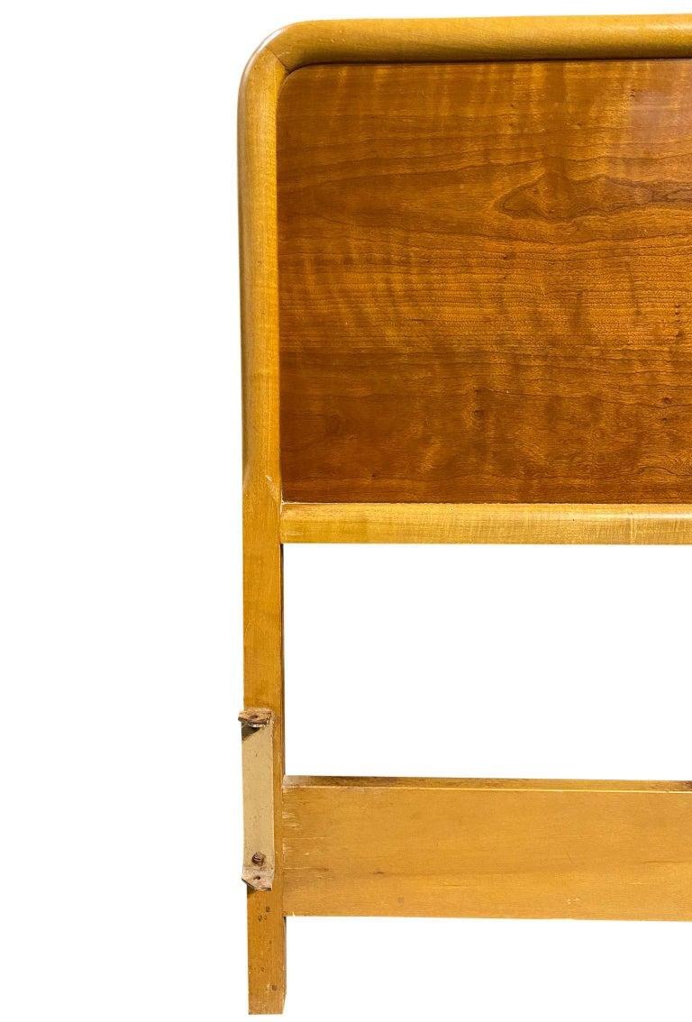 American Beautiful Midcentury Robsjohn-Gibbings King Headboard for Widdicomb For Sale