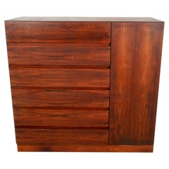 Beautiful Midcentury Rosewood High Dresser