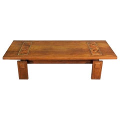 Beautiful Midcentury Table with Inlay