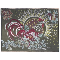 Beautiful Modern 20th Century French Needlepoint Tapestry