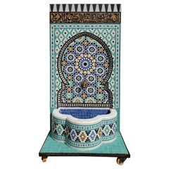 Beautiful Moroccan Moorish Fountain