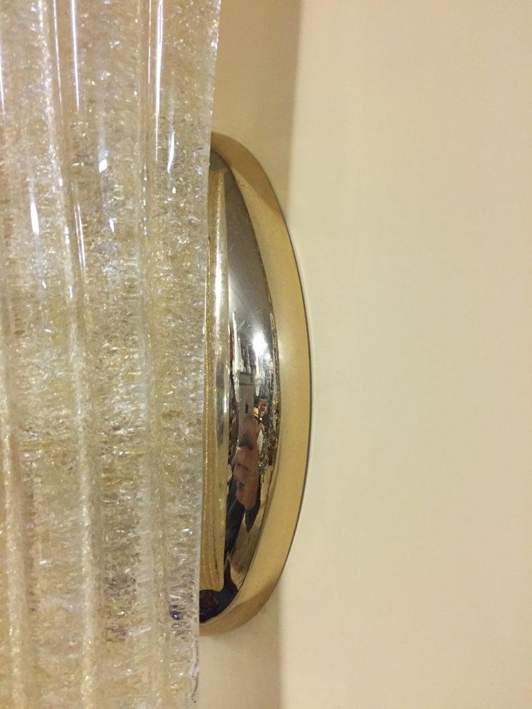 Beautiful Murano Glass Wall Lamp For Sale 6