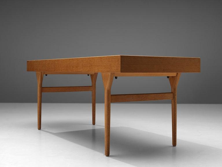 Beautiful Nanna Ditzel Desk in Oak For Sale 1