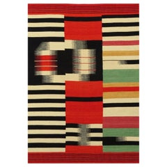 Beautiful New Tribal Design Hand Woven Kilim Rug  size 6ft 6in x 9ft 10in