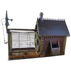 Hübscher Alter Eichhörnchen-Käfig, Frühes 19. Jahrhundert