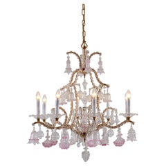 Beautiful Original Maria Theresia Chandelier in the Baroque Style from 1880