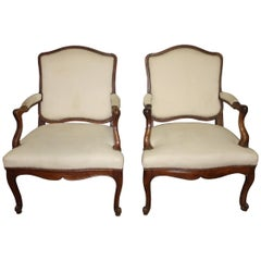 Beautiful Pair of 18th Century French Armchairs