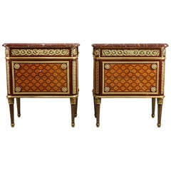 Beautiful Pair of Commodes Attributed to Krieger