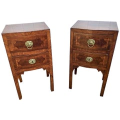 Beautiful Pair of Italian Neoclassical Comodinis