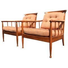 Beautiful Pair of Lounge Chairs by Kerstin Hörlin-Holmquist