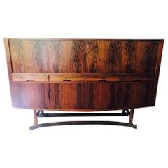 Beautiful & Rare 1960s Johannes Andersen Hb 20 High Sideboard Rosewood Hans Bech