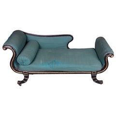 Chaise Longue/Daybed - Regency Period - Bergère