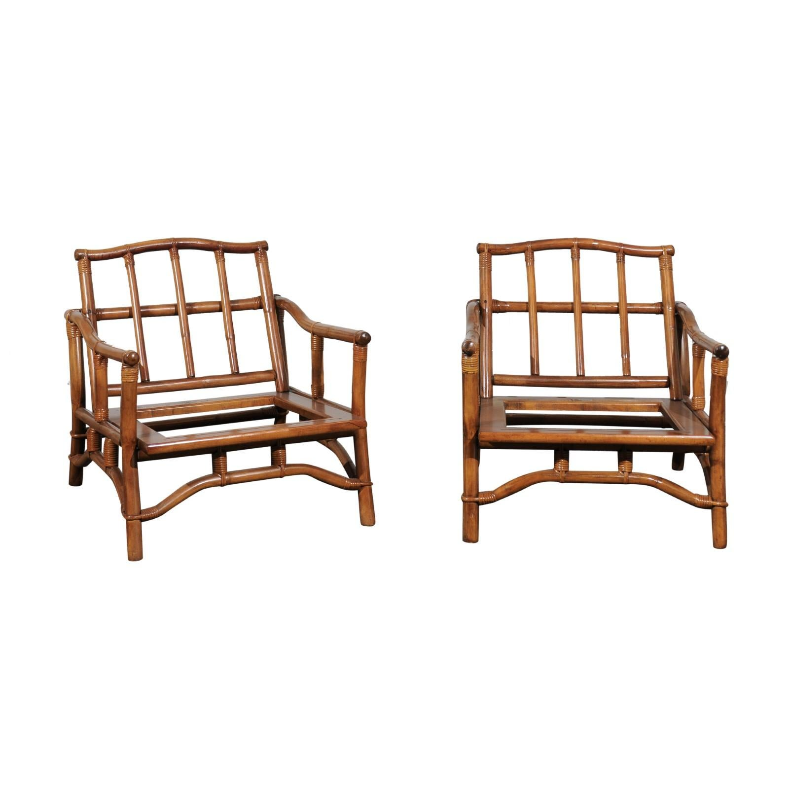 Ficks Reed Lounge Chairs 17 For At 1stdibs