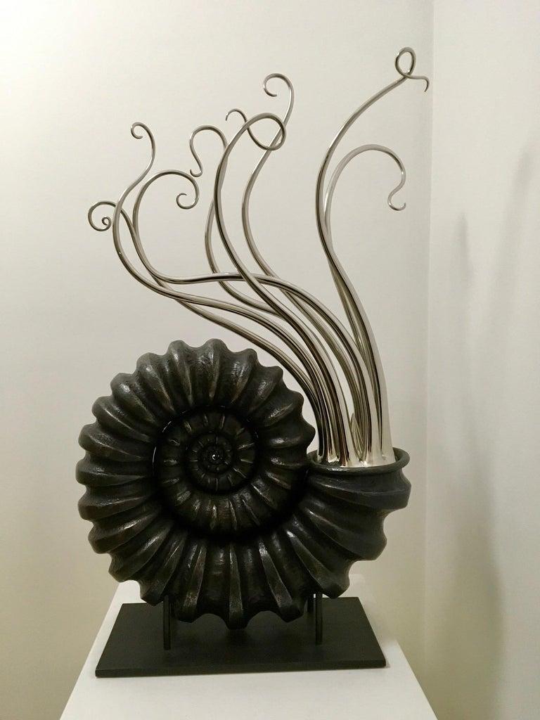 Steel Beautiful Sculpture