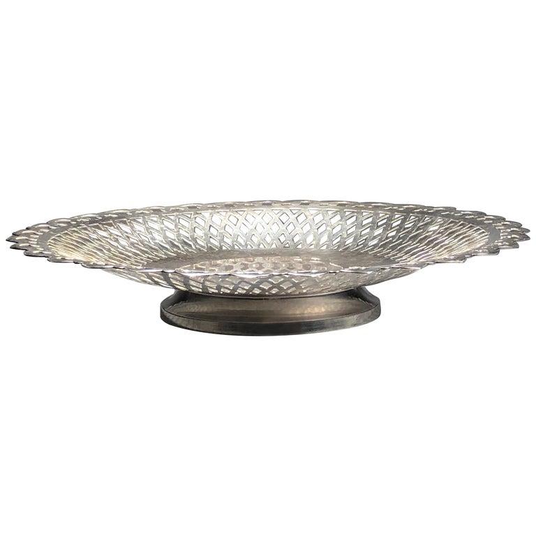 Beautiful Silver Plate Centrepiece SALE  For Sale