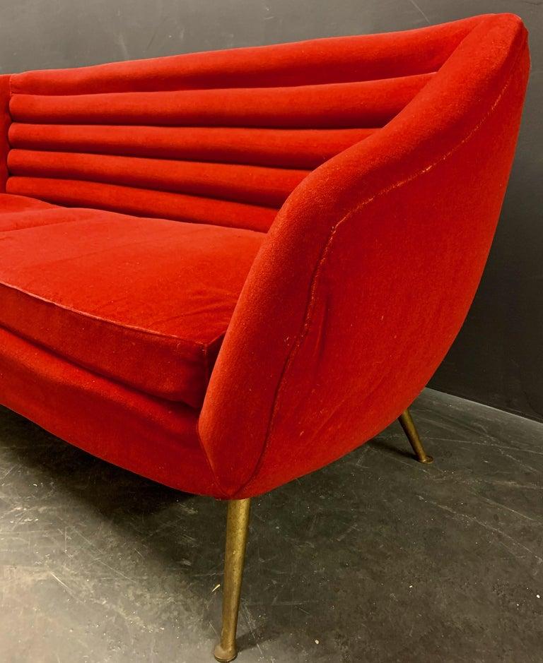 Beautiful Sofa Attributed to Andrea Busiri Vici In Fair Condition For Sale In Munich, DE