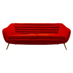 Beautiful Sofa Attributed to Andrea Busiri Vici