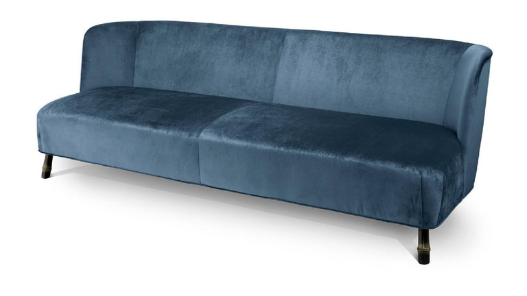 Other Beautiful Sofa Made of Solid Timber and Poplar Plywood Tapered Legs For Sale