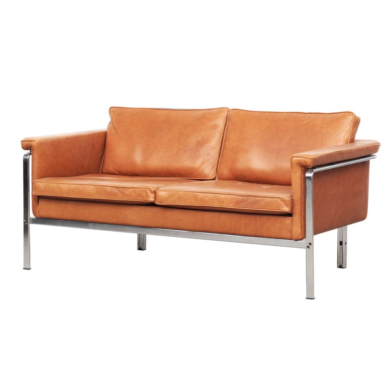 Beautiful Sofa Two-Seat by Horst Brüning for Alfred Kill International, 1968 For Sale