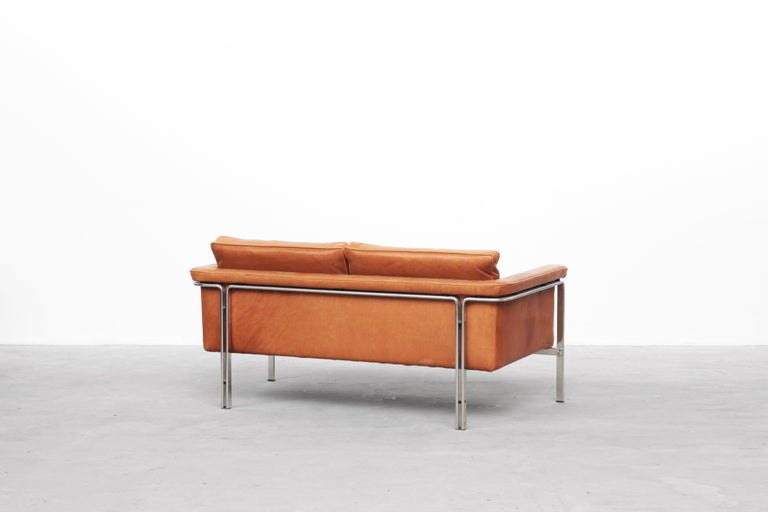 20th Century Beautiful Sofa Two-Seat by Horst Brüning for Alfred Kill International, 1968 For Sale