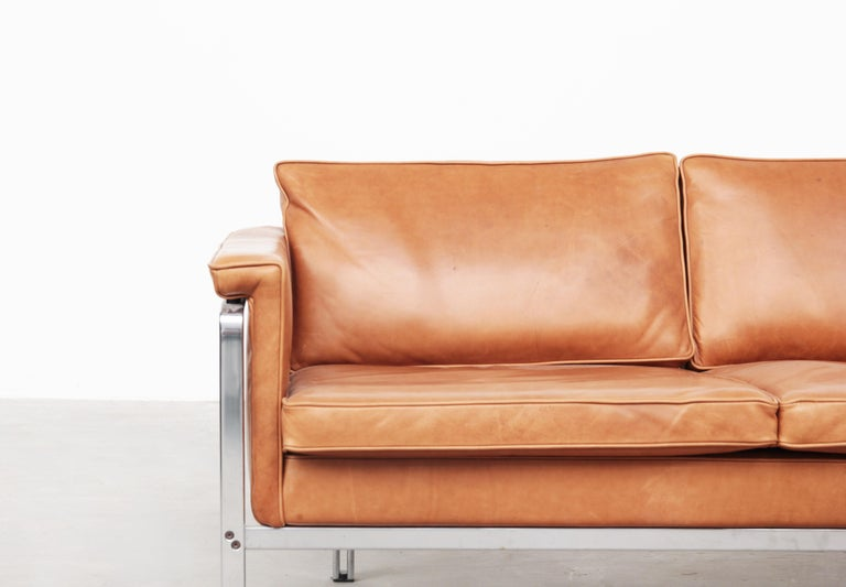 Beautiful Sofa Two-Seat by Horst Brüning for Alfred Kill International, 1968 For Sale 1