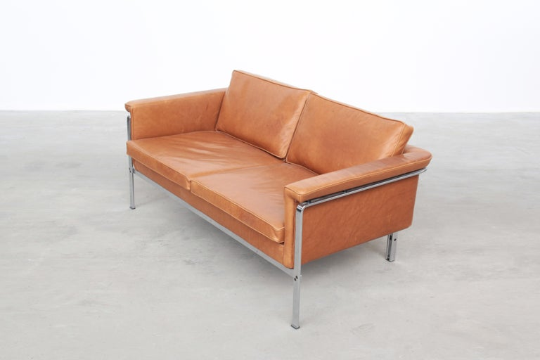 Beautiful Sofa Two-Seat by Horst Brüning for Alfred Kill International, 1968 For Sale 3