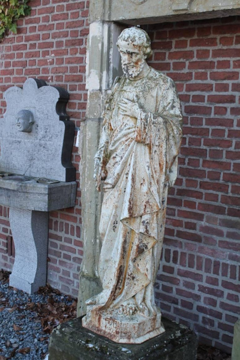 Beautiful Statue 19th Century In Fair Condition For Sale In Udenhout, NL