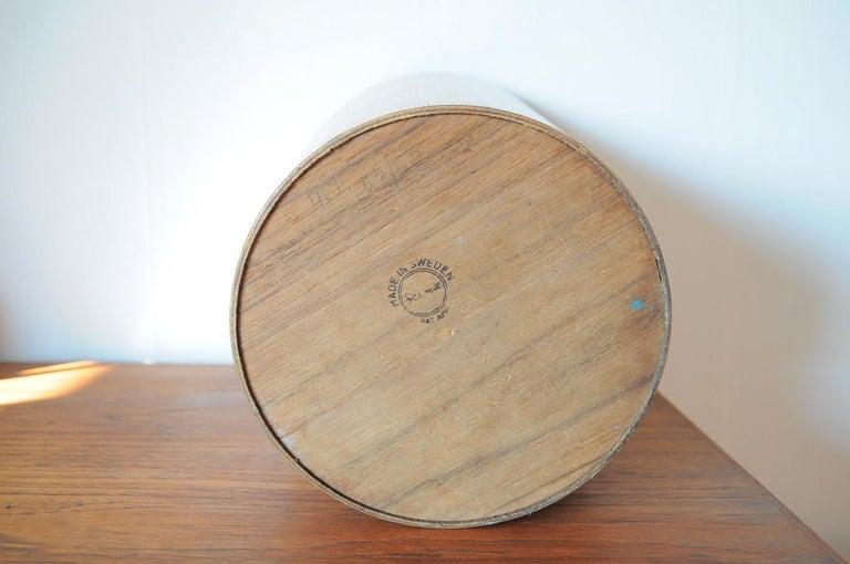 Beautiful Swedish Waste Paper Basket Designed by Martin Åberg for Servex For Sale 3
