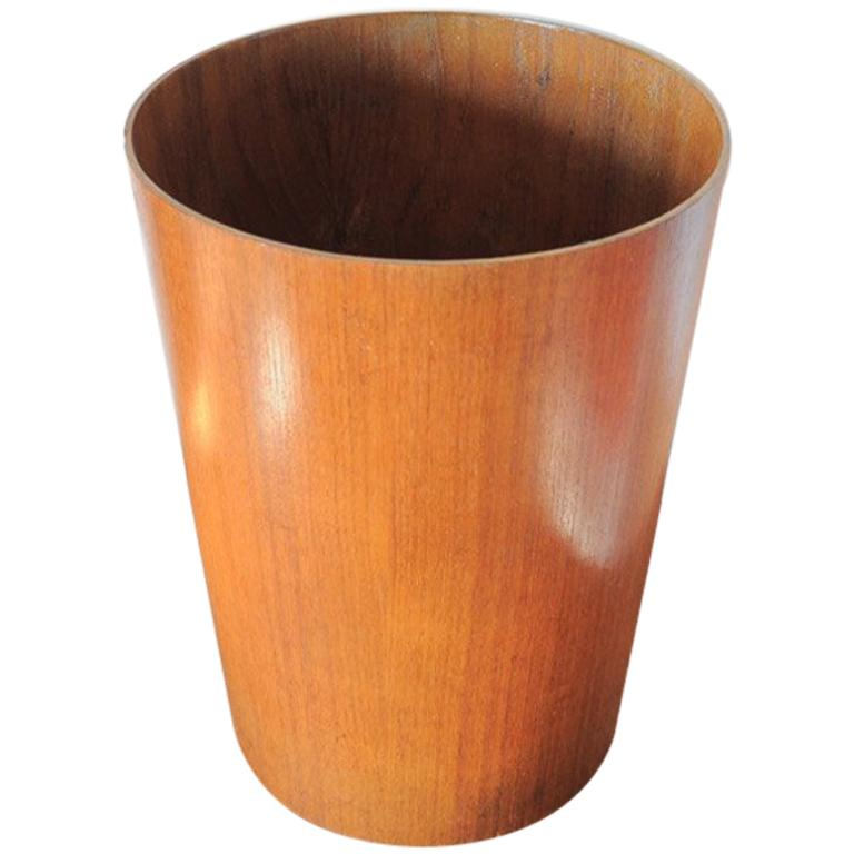 Beautiful Swedish Waste Paper Basket Designed by Martin Åberg for Servex For Sale