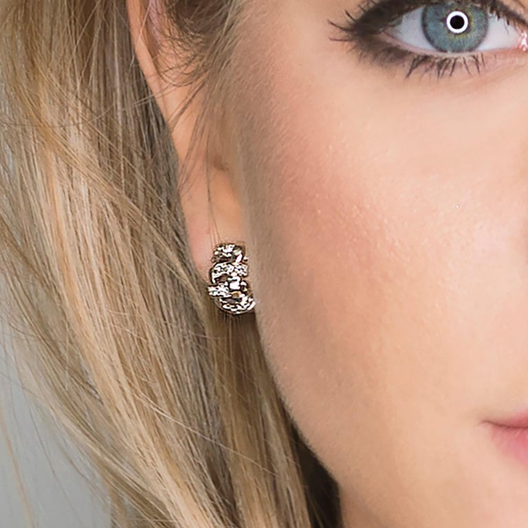 Tiffany & Co. Lattice 18k Gold and Diamond Necklace, Bracelet & Earring Suite For Sale 3