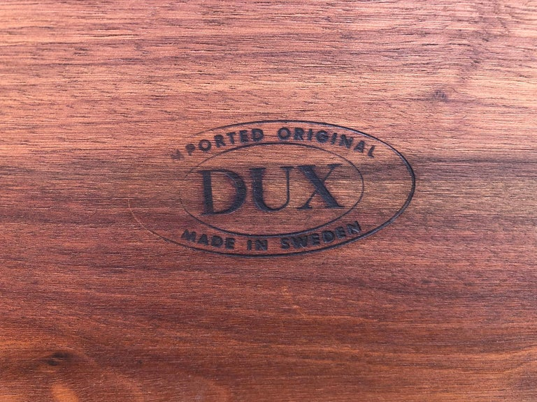 Beautiful Tove & Edvard Kindt-Larsen Teak Coffee Table by DUX For Sale 4