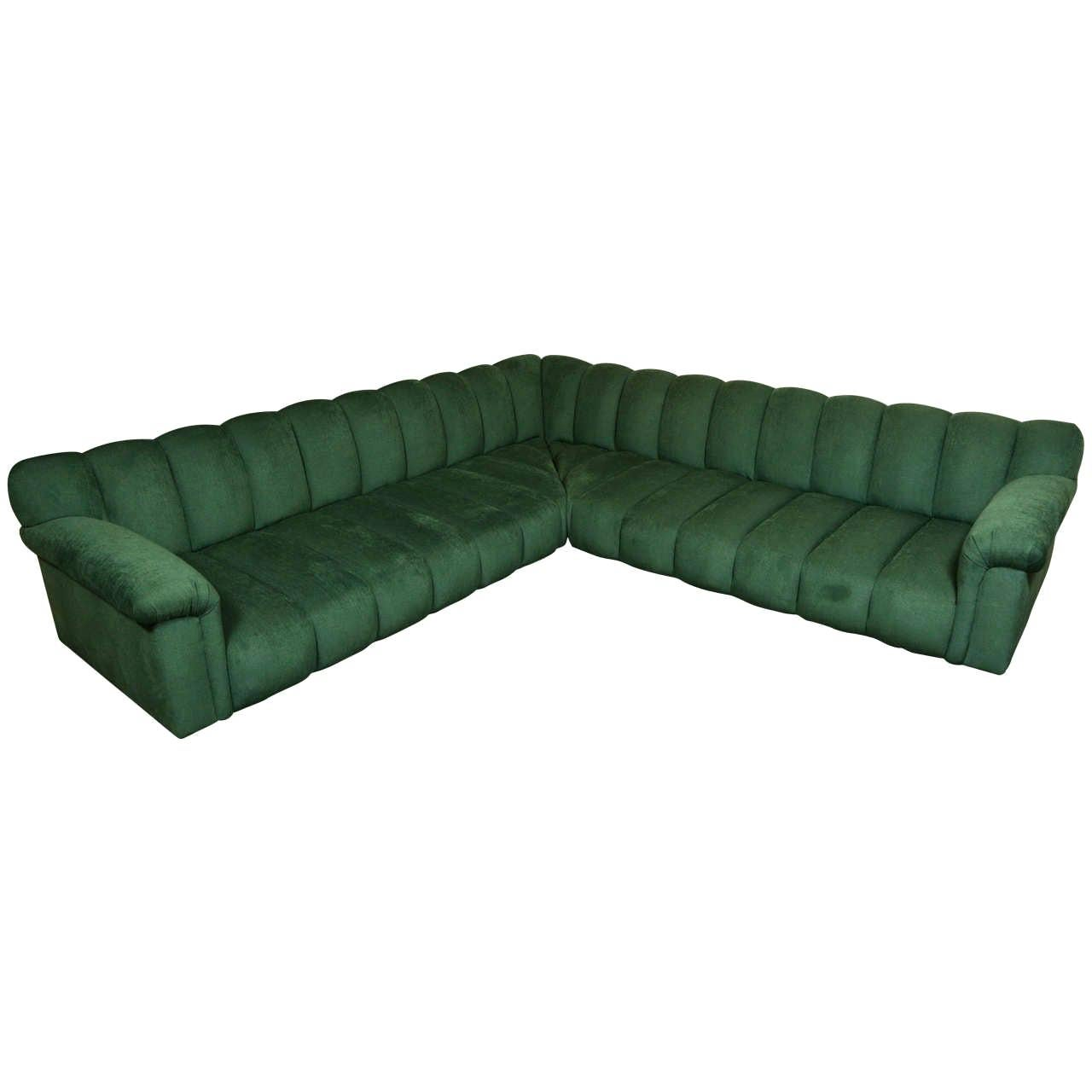 Two-Piece Sectional Sofa by Steve Chase