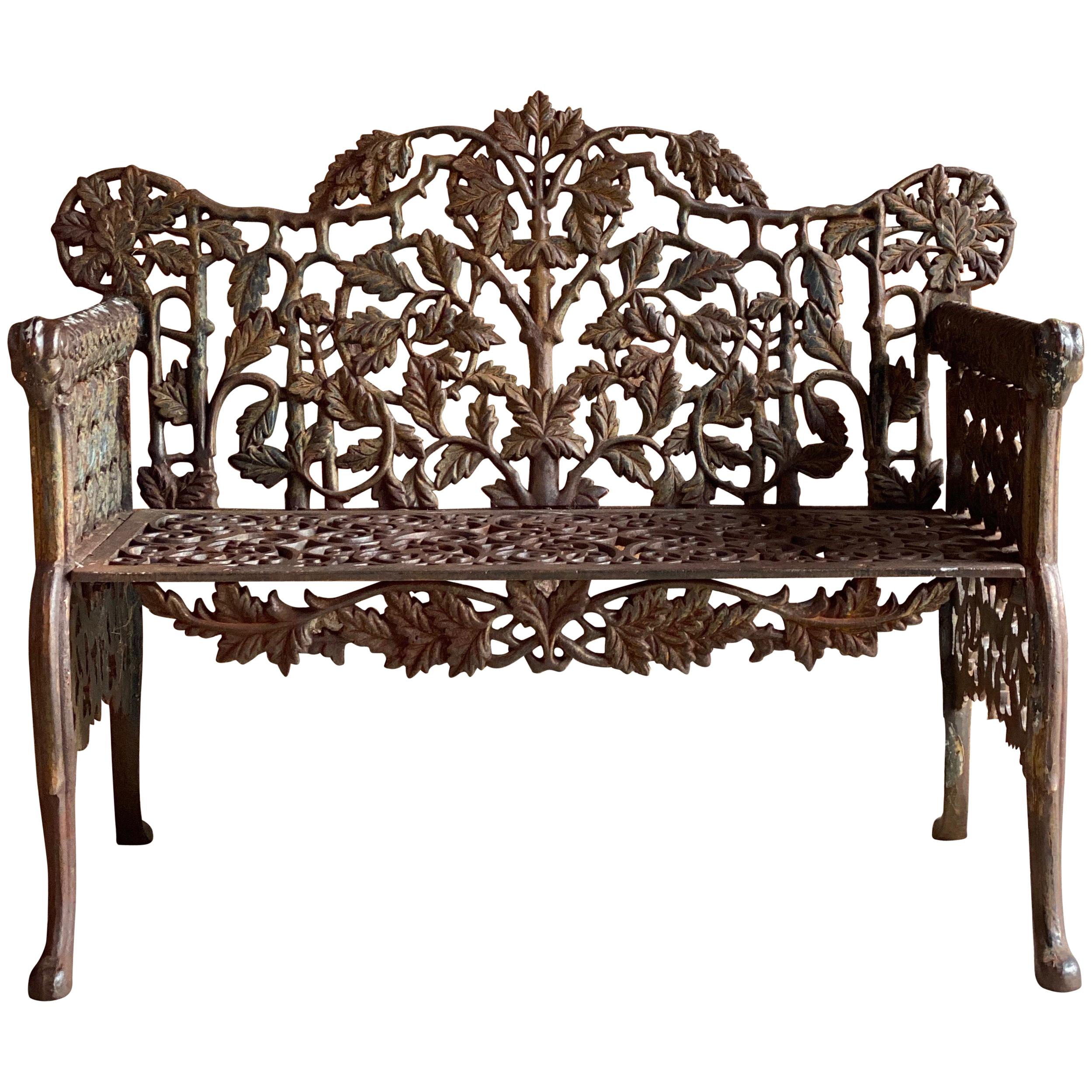 Enjoyable Victorian Benches 69 For Sale At 1Stdibs Evergreenethics Interior Chair Design Evergreenethicsorg