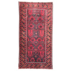 Beautiful Vintage Afghan Balutch Rug