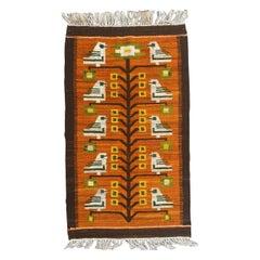 Beautiful Vintage Art Deco Polish Tapestry