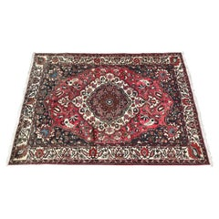 Beautiful Vintage Bakhtiar Hand Knotted Rug