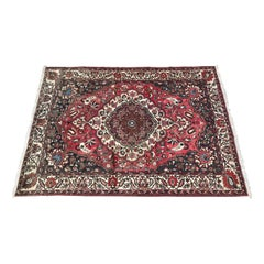Beautiful Vintage Bakhtiar Style Hand Knotted Rug