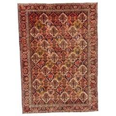 Beautiful Vintage Bakhtiari Rug