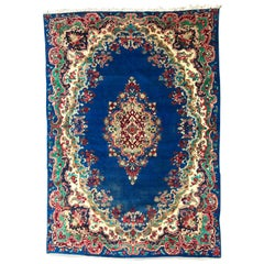 Beautiful Vintage Blue Mahal Rug