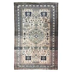Beautiful Vintage Caucasian Azerbaijan Rug