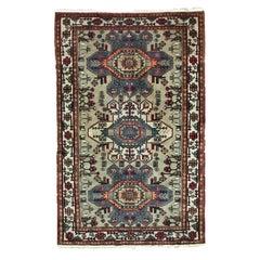 Beautiful Vintage Caucasian Shirwan Rug