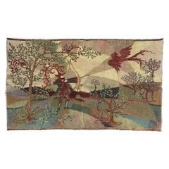 Beautiful Vintage French Art Deco Design Jaquar Tapestry