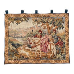 Beautiful Vintage French Jaquar Tapestry