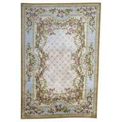 Beautiful Vintage French Savonnerie Style Rug
