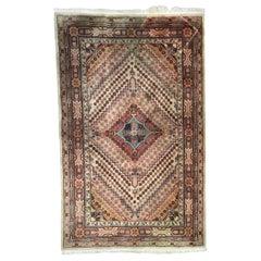 Beautiful Vintage Khotan Sinkiang Rug