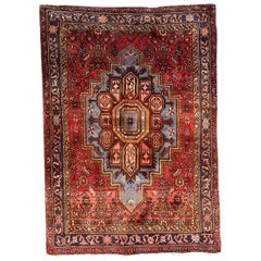 Beautiful Vintage Kurdish Rug