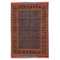 Beautiful Vintage Mohair Turkomen Rug
