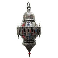 Beautiful Vintage Moroccan Lantern Chandelier