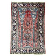 Beautiful Vintage Orientalist Style Rug